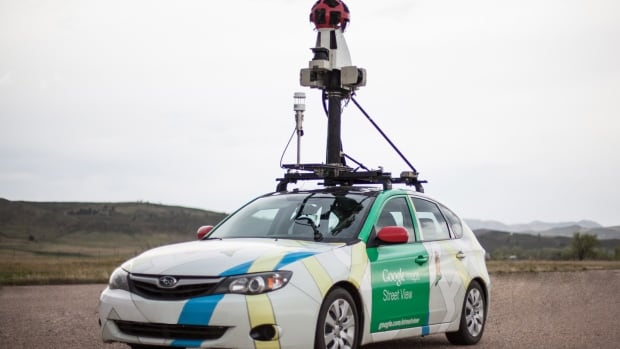 Laser-based analyzers are put in the trunk of Google Street View cars to find methane emissions in U.S. cities.