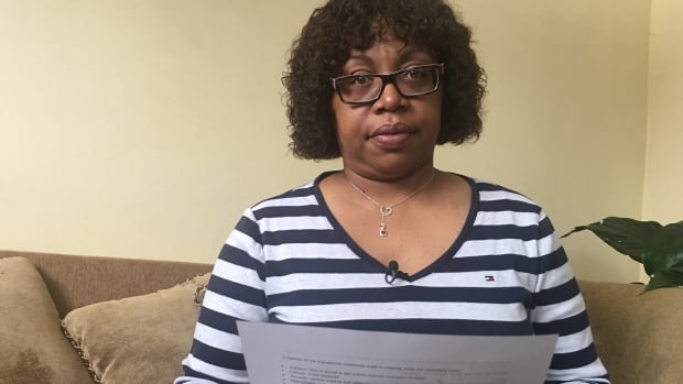 Delight Greenidge says it's 'ludicrous' she's never been told why her son's teacher assigned students to dramatize cooking and injecting crystal meth. 'It's about understanding, of all the billions of things you can Google and land on, why this assignment. That's the question I need an answer to.'