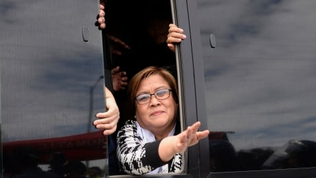 Jailed Philippine senator says she 'won't be quiet' about President Duterte