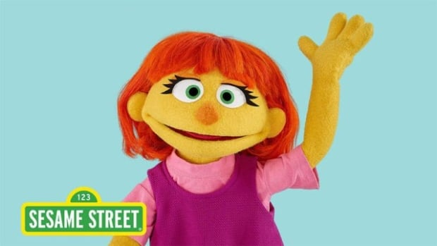 Meet Julia, Sesame Street's new character with autism.
