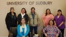 University of Sudbury moose factory students