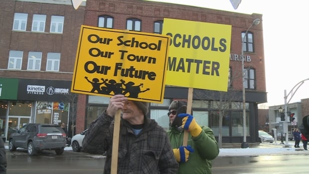 Confederation Centre Protest