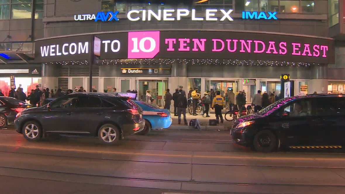 At least 5 people pepper-sprayed near Yonge-Dundas Square