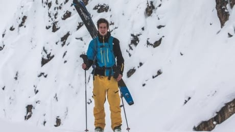 'After a while, I couldn't fight anymore': B.C. skier reflects on surviving avalanche
