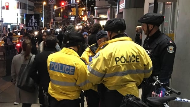 A staff sergeant with Toronto Police says the city wouldn't be equipped to deal with a large-scale incident, like the Danzig Street shooting, at its current staffing levels.