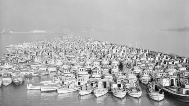 Fishermen's Reserve rounding up Japanese-Canadian fishing vessels on