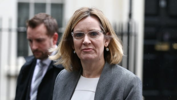 Britain's Home Secretary Amber Rudd, writing in the U.K.'s Telegraph, said the internet acts as a 'conduit, inciting and inspiring violence, and spreading extremist ideology of all kinds.'