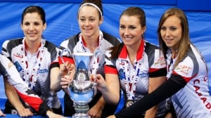 Canada's Homan wins gold at world women's curling championships