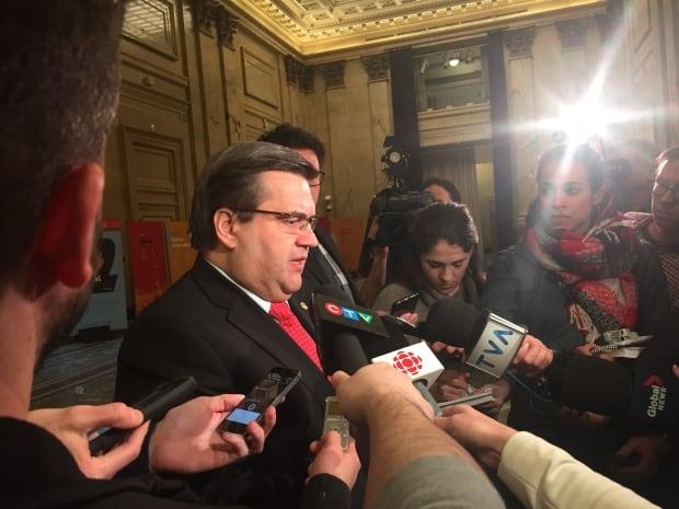 Mayor Denis Coderre on SPVM