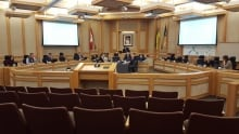 Saskatoon city council meeting