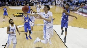March Madness: North Carolina holds off Kentucky to reach Final Four