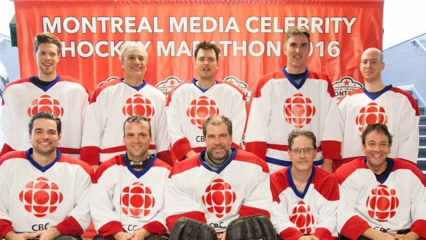 Don't be fooled by these smiling faces. The CBC Montreal No Stars are in it to win it.