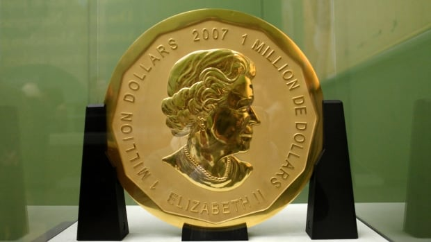 Massive 1m Gold Coin From Canadian Mint Stolen In Berlin