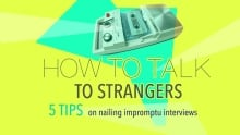 how to talk to strangers blog