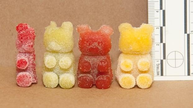 Gummy candy seized