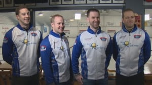 Putting on the Maple Leaf: Team Gushue preparing for world championship