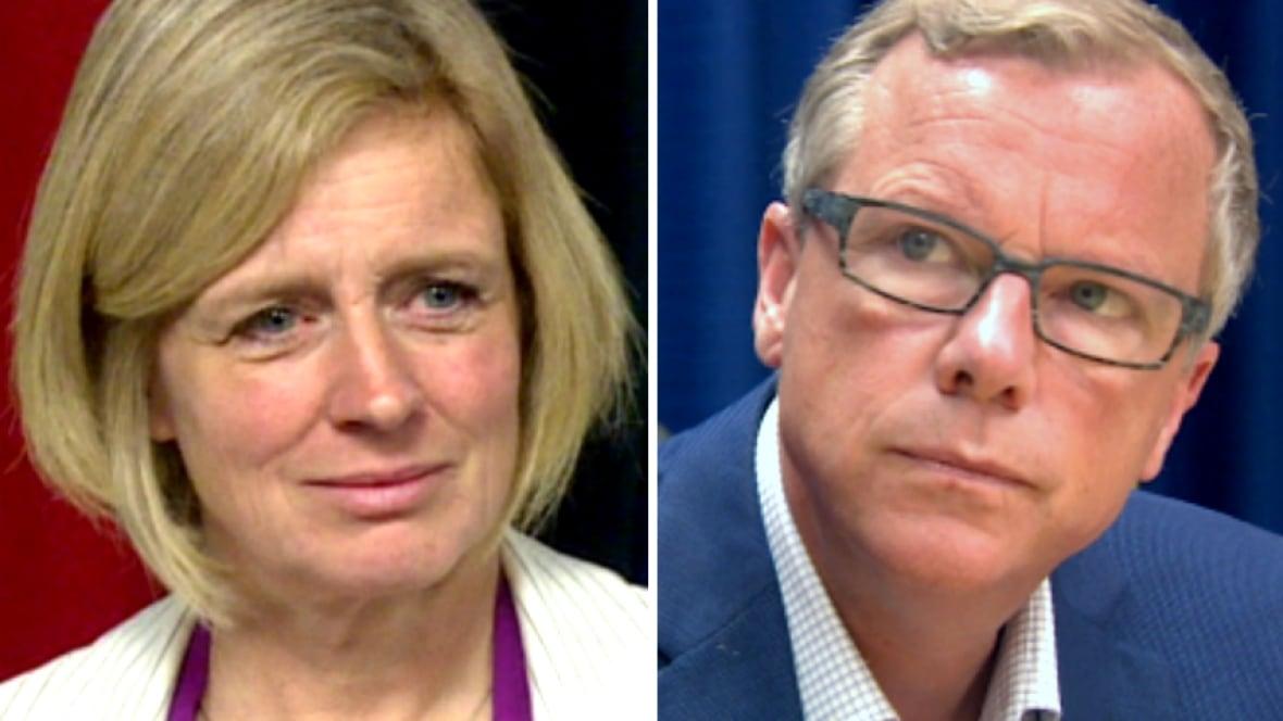 Rachel Notley, Brad Wall trade more jabs over budget philosophy