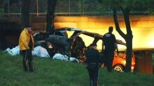 New York van crash
