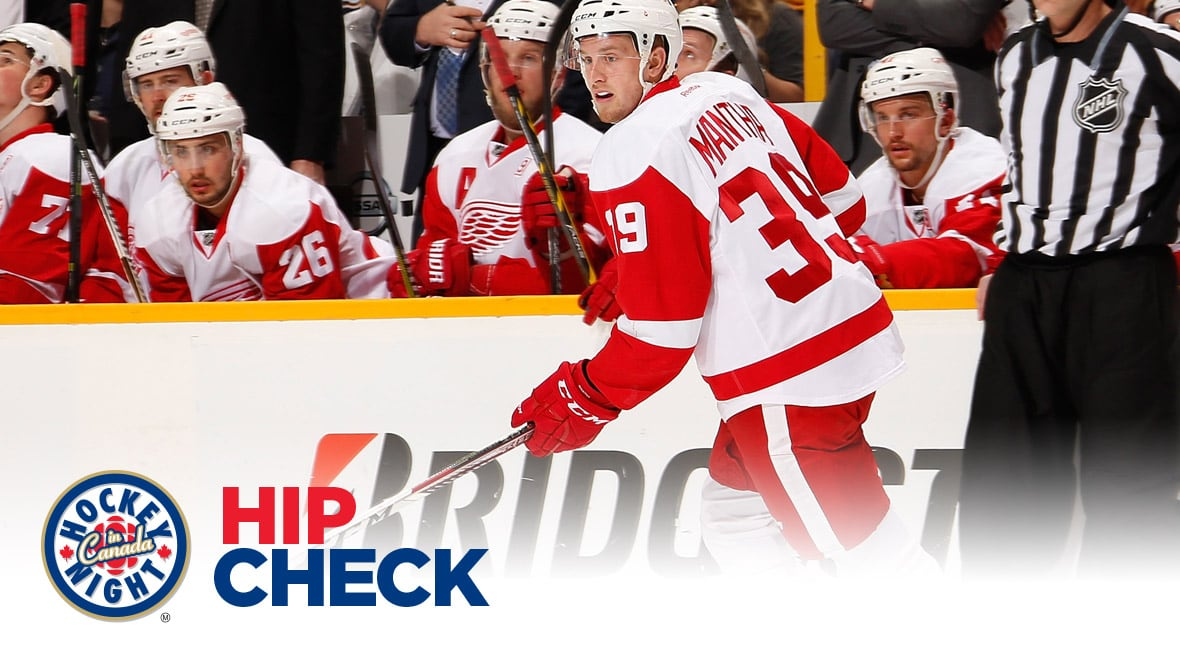 outlet store c8111 2b7b9 Hip Check: Red Wings' Anthony Mantha capitalizes on two breakaways in 70  seconds