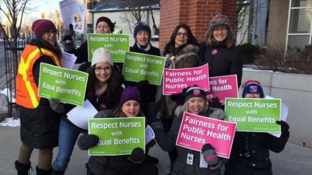 The Region of Waterloo and the Ontario Nurses Association have reached a tentative agreement for public health nurses, who were prepared to strike Wednesday morning.