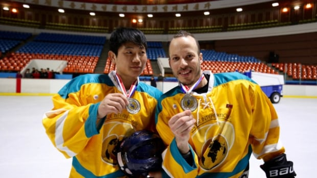 A group of Montrealers left their beer league behind for a week for a chance to play hockey in North Korea.