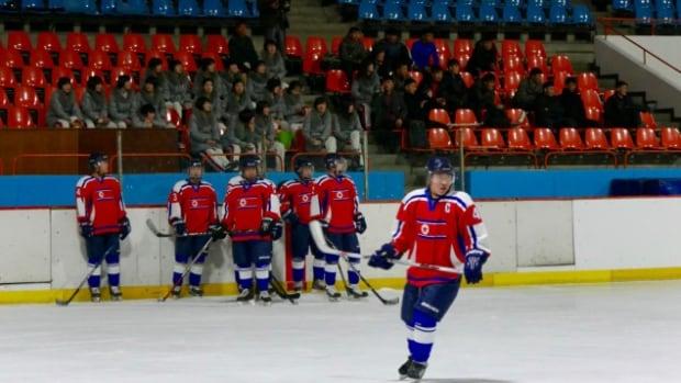 North Korea hockey