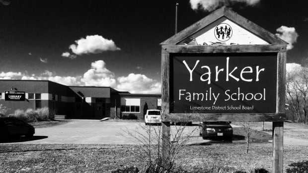 Yarker Family School in Stone Mills Township has a capacity of 72, but currently only 26 children are enrolled. The Limestone District School Board is considering the school for closure.