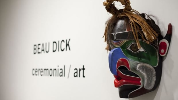 Beau Dick was know around the world for his carved masks.