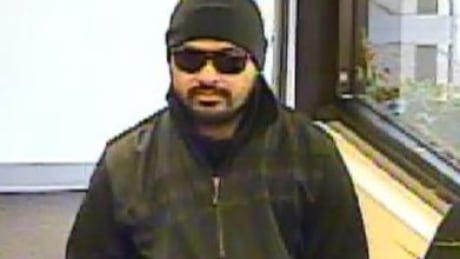 Alleged bank robber sought by police after 3rd heist this month