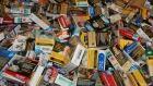Cigarette pile