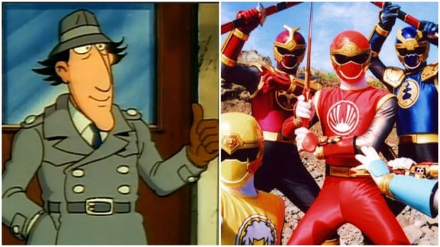 Inspector Gadget and Power Rangers