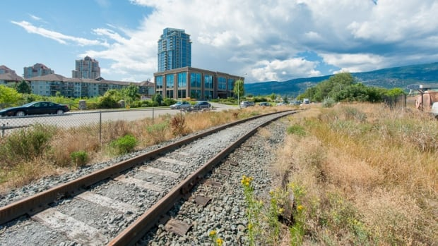 An abandoned railway line in the Okanagan is being converted into a 50-kilometre bike path connecting Kelowna, Lake Coutry, Vernon and Coldstream.
