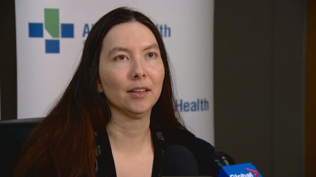 Dr. Joanna Oda, the medical officer of health for the Edmonton zone of Alberta Health Services, says people should check their immunization records to ensure they have had two full doses of mumps vaccine.