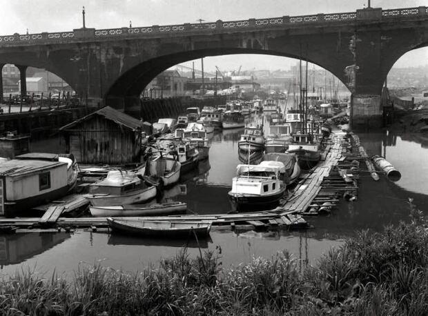 Georgia Street viaduct archival