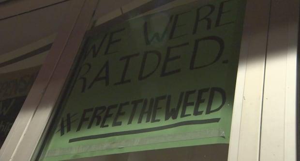 pot raid Cannabis Culture Church Street