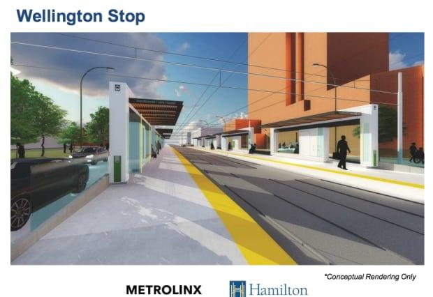 LRT Wellington stop