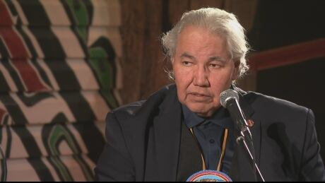 Senator Murray Sinclair speaks at The Current MMIW forum March 29, 2017