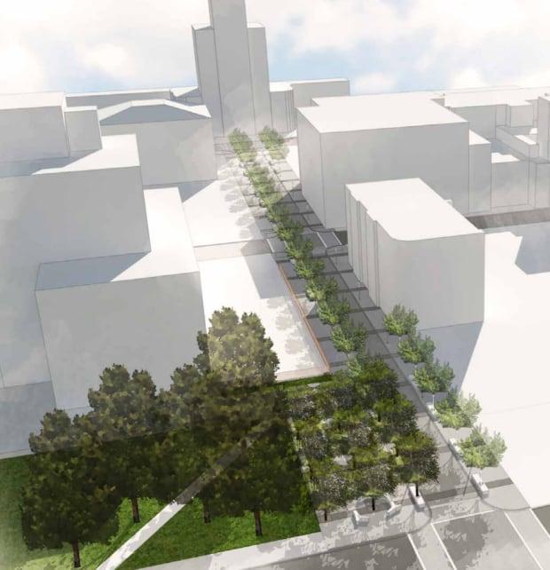 LRT streetscape design approach