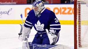 Leafs' Andersen expecting return from injury Thursday in Nashville
