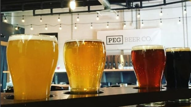 Microbreweries who wish to set up shop in downtown Winnipeg will soon be able to sell their own beer without operating a restaurant, such as this one at PEG Beer Co.