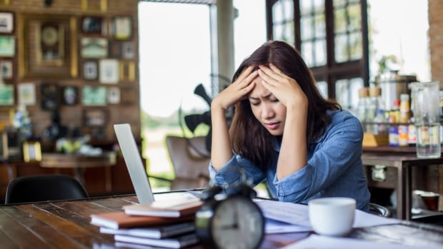 About a quarter of Canadians tell Statistics Canada that most days are 'quite' or 'extremely' stressful, with women tending to report higher levels of stress.