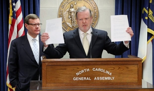 N.C. governor Cooper signs compromise to repeal 'bathroom bill'