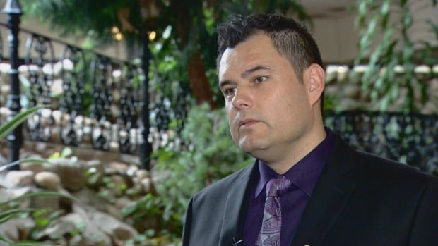 Jesse Thistle, once homeless and addicted to drugs, was the keynote speaker Wednesday at an Edmonton event tackling Indigenous homelessness.