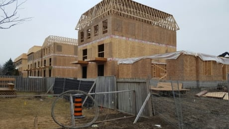 homes under construction in Richmond Hill