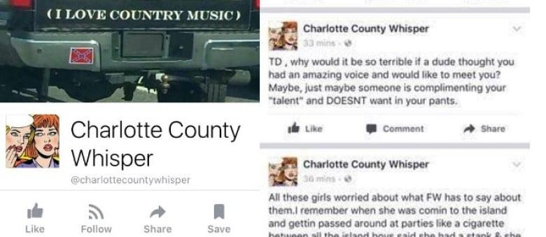 It's not true': Women speak out against Charlotte County gossip site