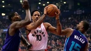 Hornets halt Raptors' winning streak