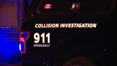 STOCK VANCOUVER POLICE VPD COLLISION INVESTIGATION ANALYSIS TRUCK