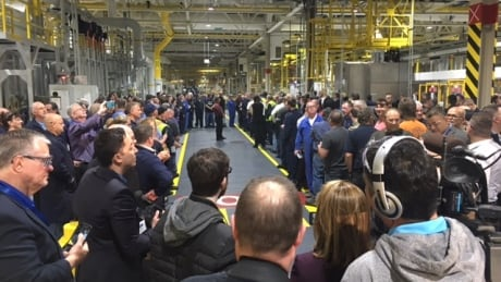 Ford workers ready to greet Trudeau