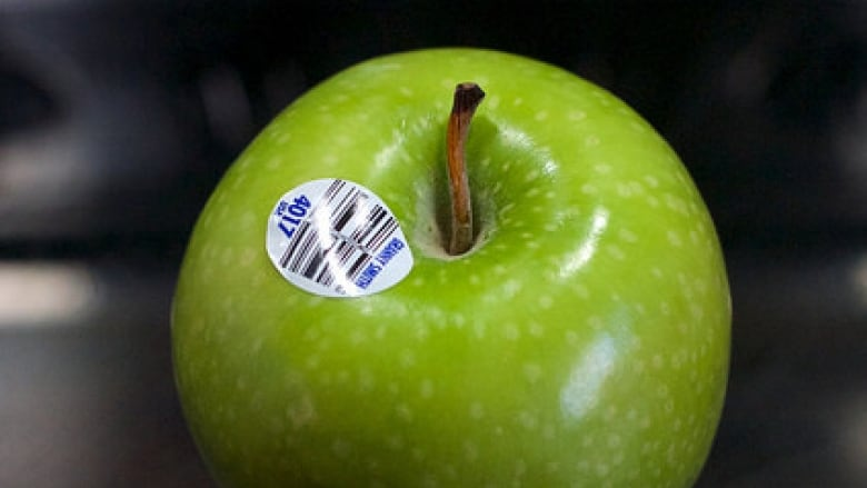 What those little stickers on fruits and vegetables are for | CBC News