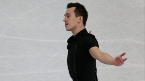 Patrick Chan 3rd after short program at figure skating worlds